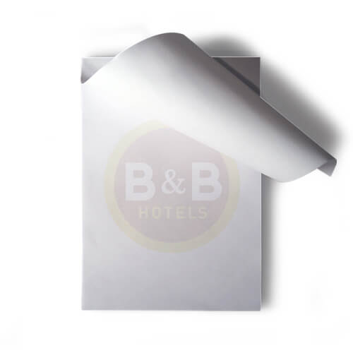 Bloc notes publicitaire sans couverture CAR005