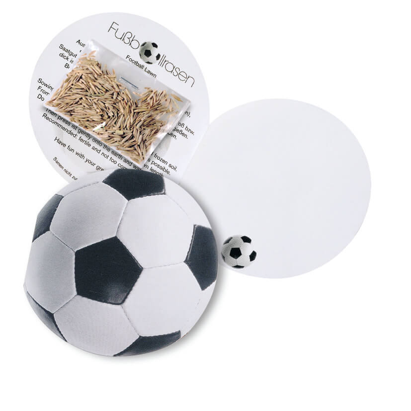 Carte football publicitaire ecologique ECO073