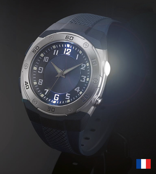 Montre Flash publicitaire Made in France