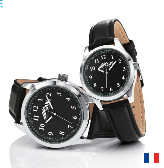 Montre Ville publicitaire Made in France