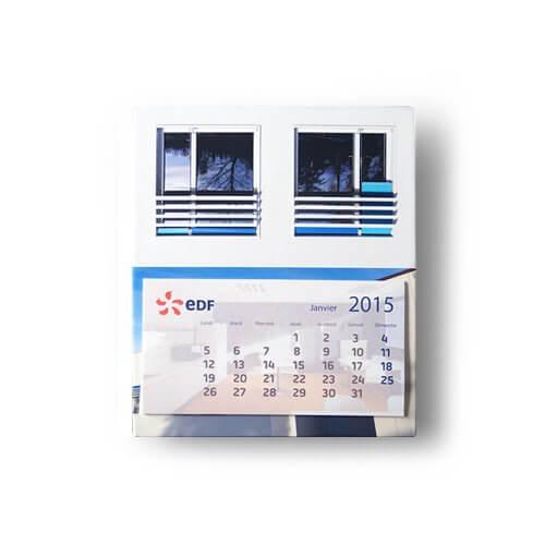 Mini calendrier publicitaire CAL004