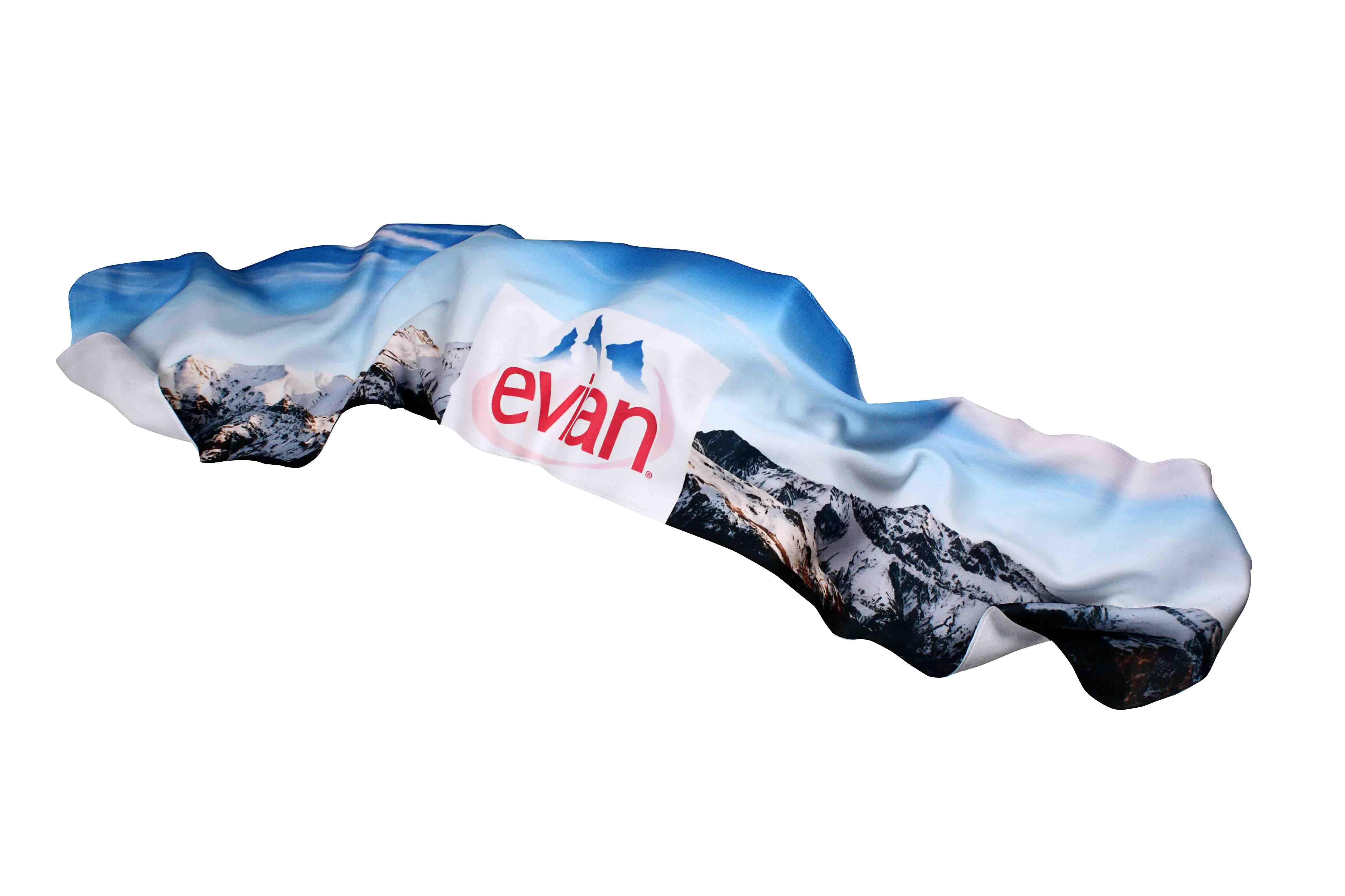 Echarpe publicitaire polaire hiver personnalisee