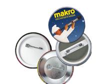 Badge bouton publicitaire BAD001
