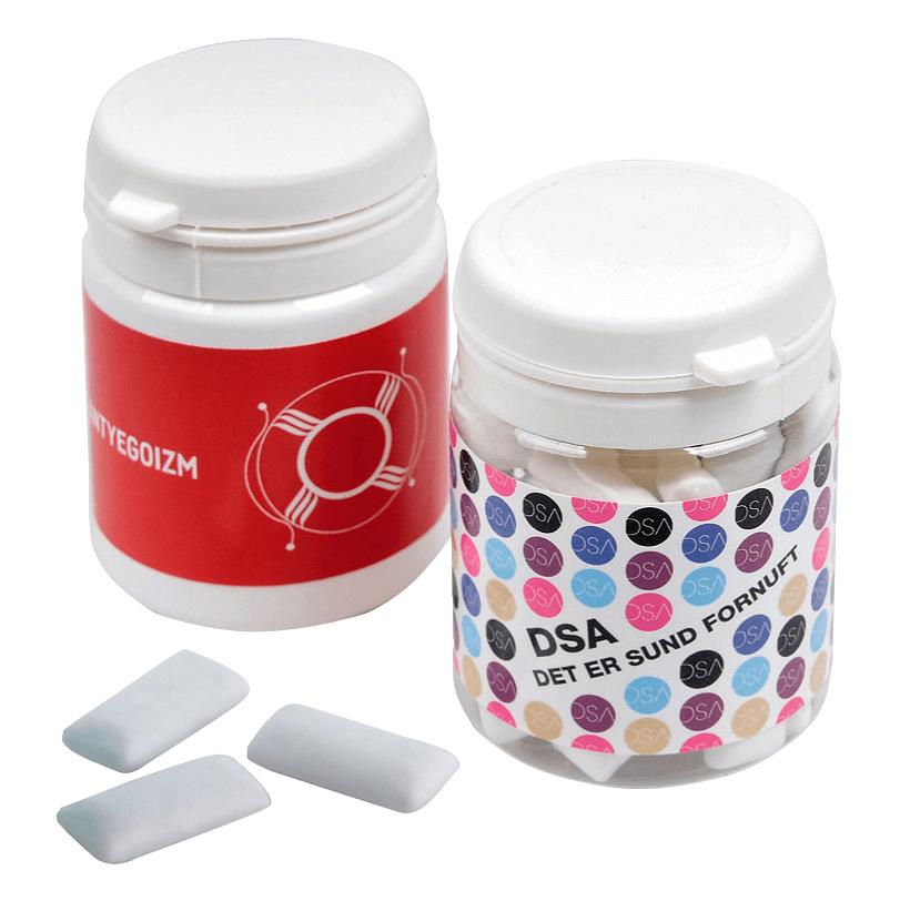 Chewing gum publicitaire personnalise BON017