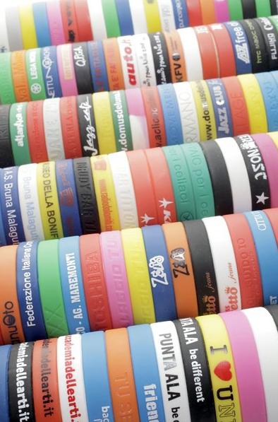 Bracelet Silicone publicitaire BRA001