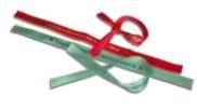 Bracelet Bresilien satin publicitaire BRA002