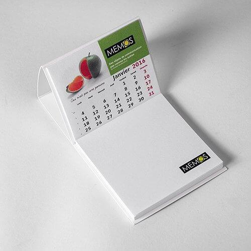 Mini calendrier publicitaire CAL006