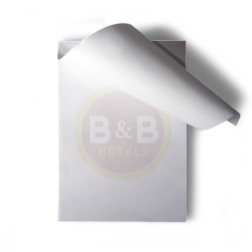 Bloc notes publicitaire sans couverture CAR005
