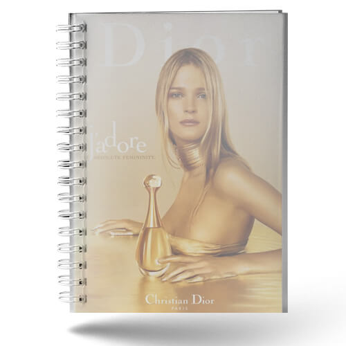 Cahier publicitaire couverture polypro CAR008