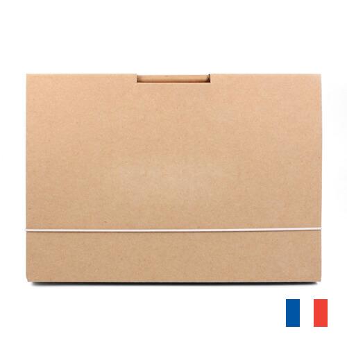 Chemise A5 carton recycle publicitaire CHE008