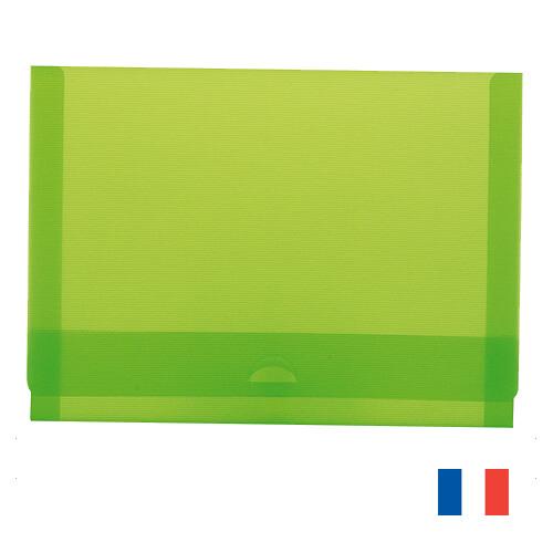 Chemise A5 carton recycle publicitaire CHE013