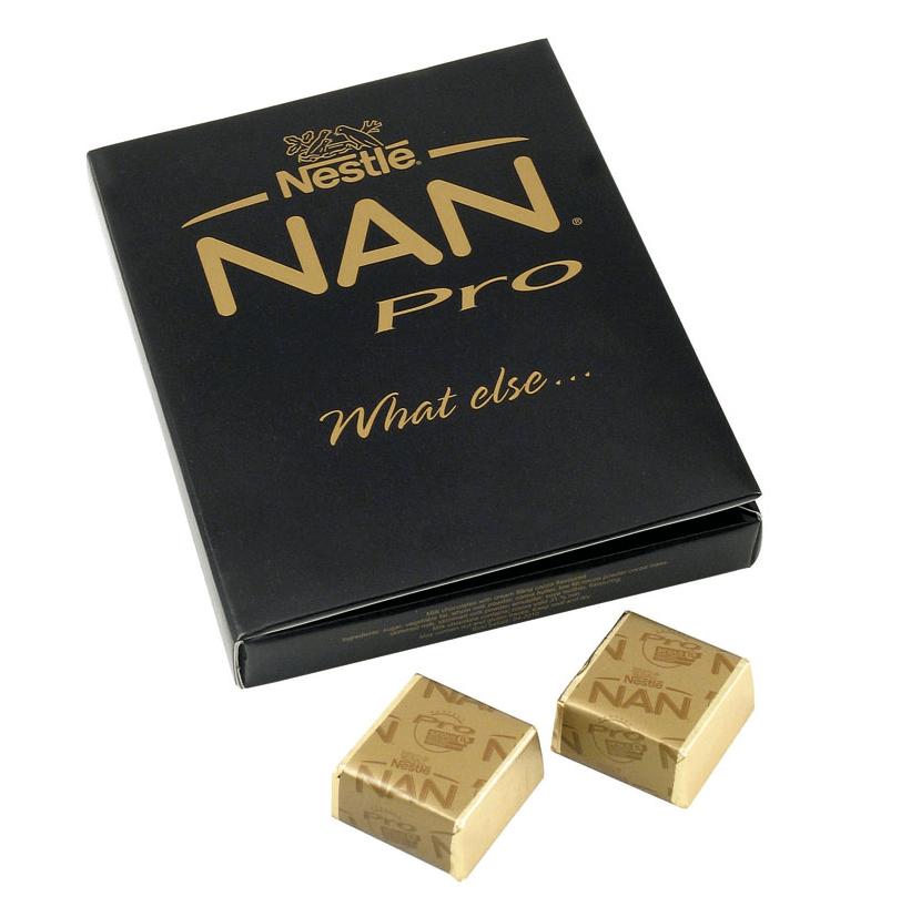 Cube Chocolat personnalise CHO072