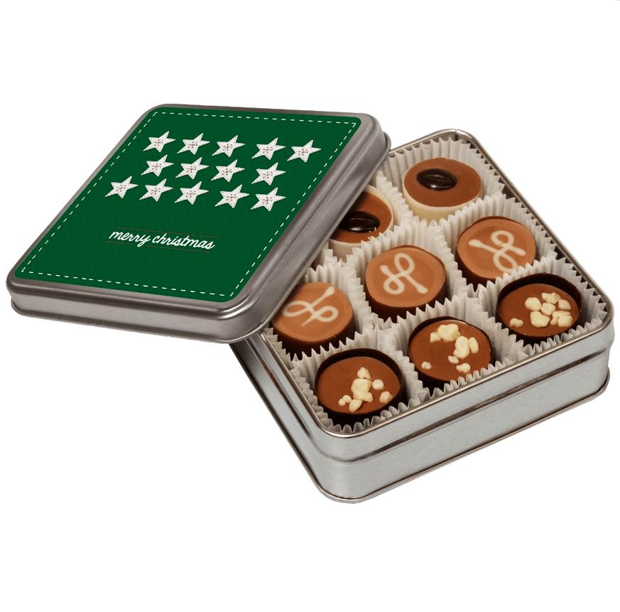 Boite Chocolat publicitaire personnalise CHO081