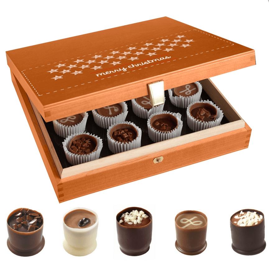 Chocolat publicitaire personnalise CHO089