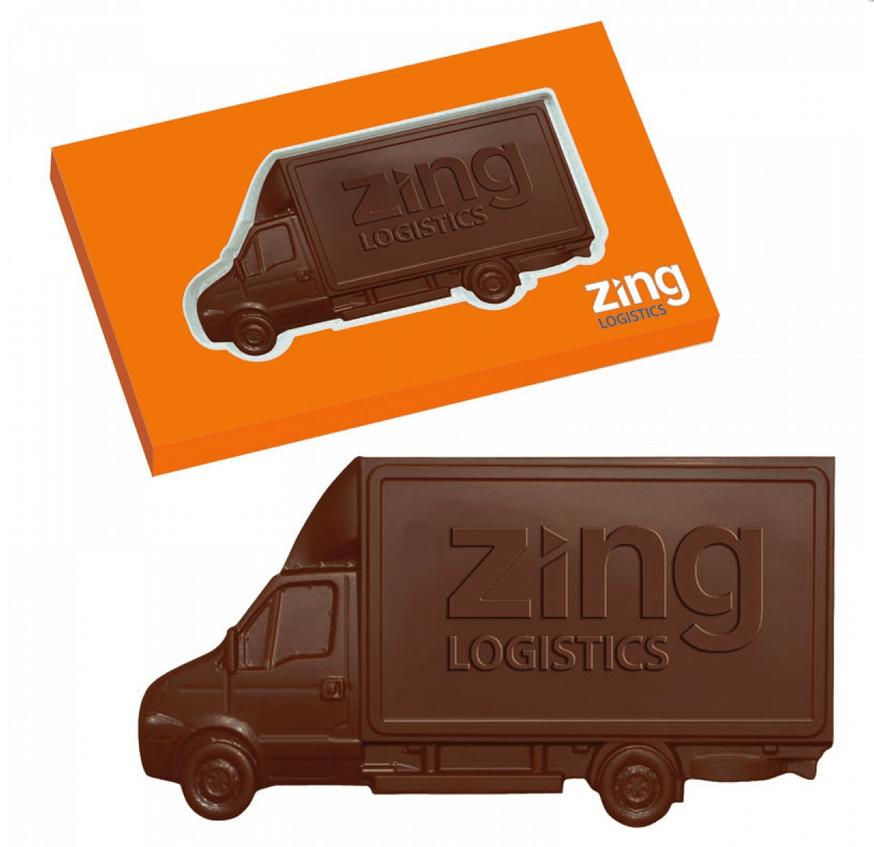 Chocolat personnalise publicitaire CHO090