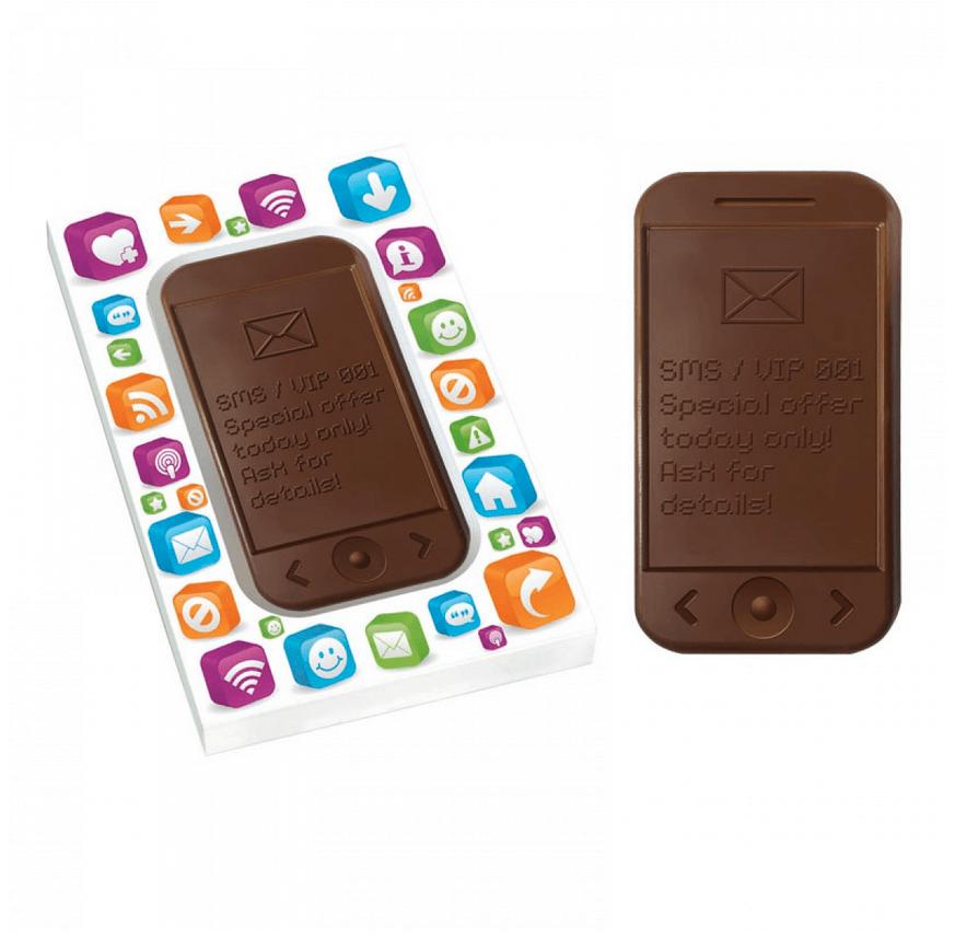 Chocolat personnalise publicitaire CHO094