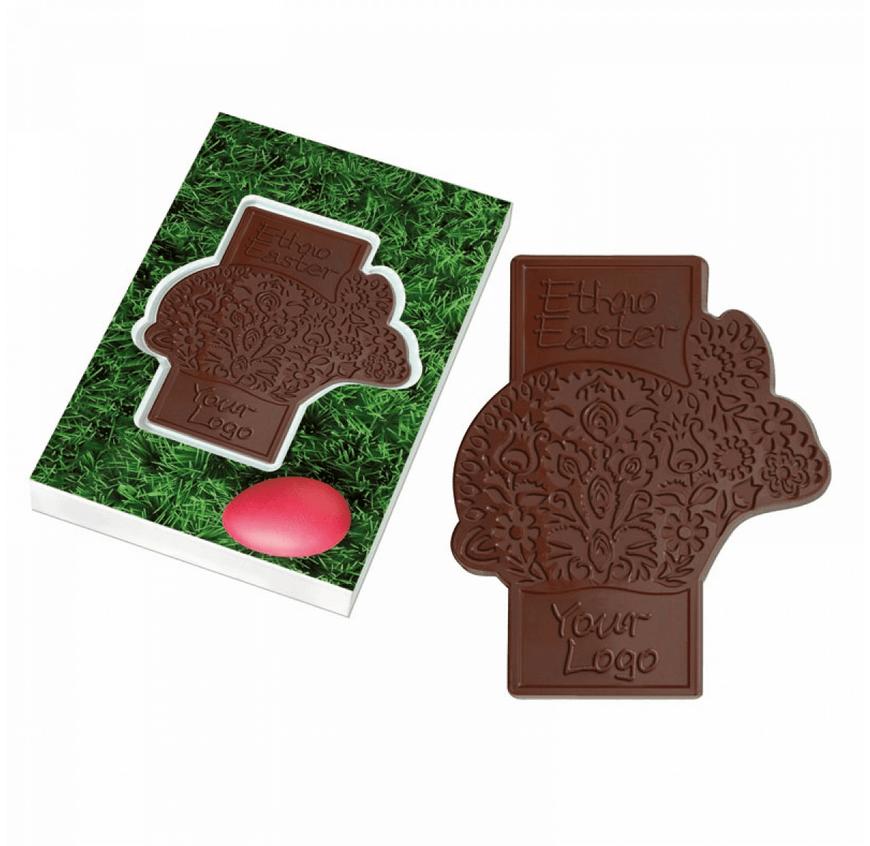 Chocolat personnalise publicitaire CHO098