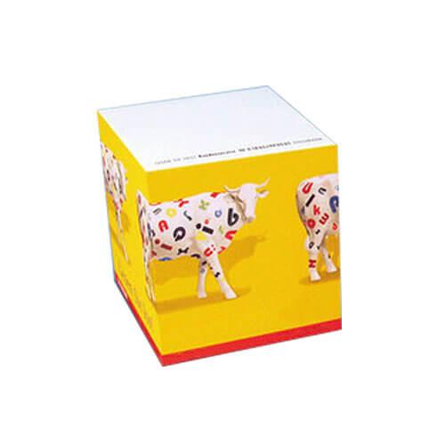 Bloc cube publicitaire 80x80x50 mm CUB001