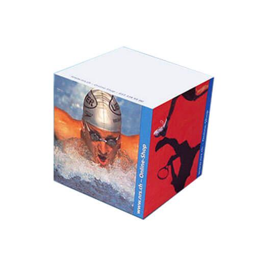 Bloc cube publicitaire 80x80x80 mm CUB005