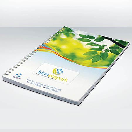 SCRIB A4 - Carnet a spirale personnalise publicitaire ECO019