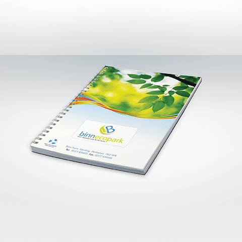 SCRIB A5 - Carnet a spirale personnalise publicitaire ECO020