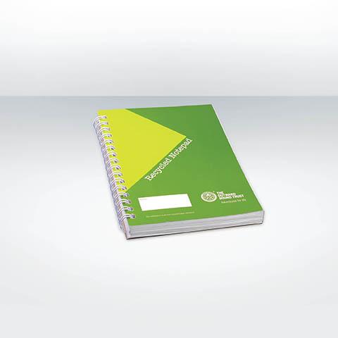 SCRIB A6 - Carnet a spirale personnalise publicitaire ECO021