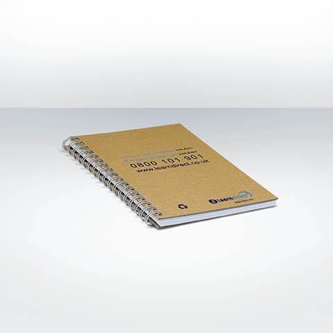 NOTILUS - Carnet publicitaire personnalise A6 ECO024