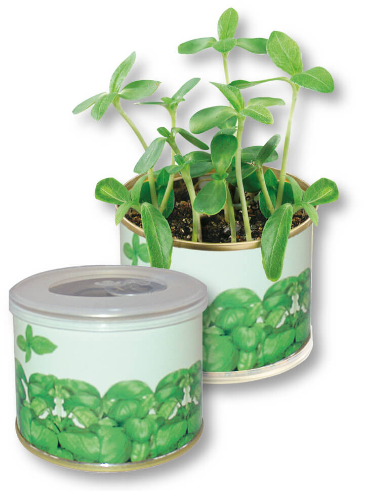 Boite a fleurs ecologique publicitaire ECO060