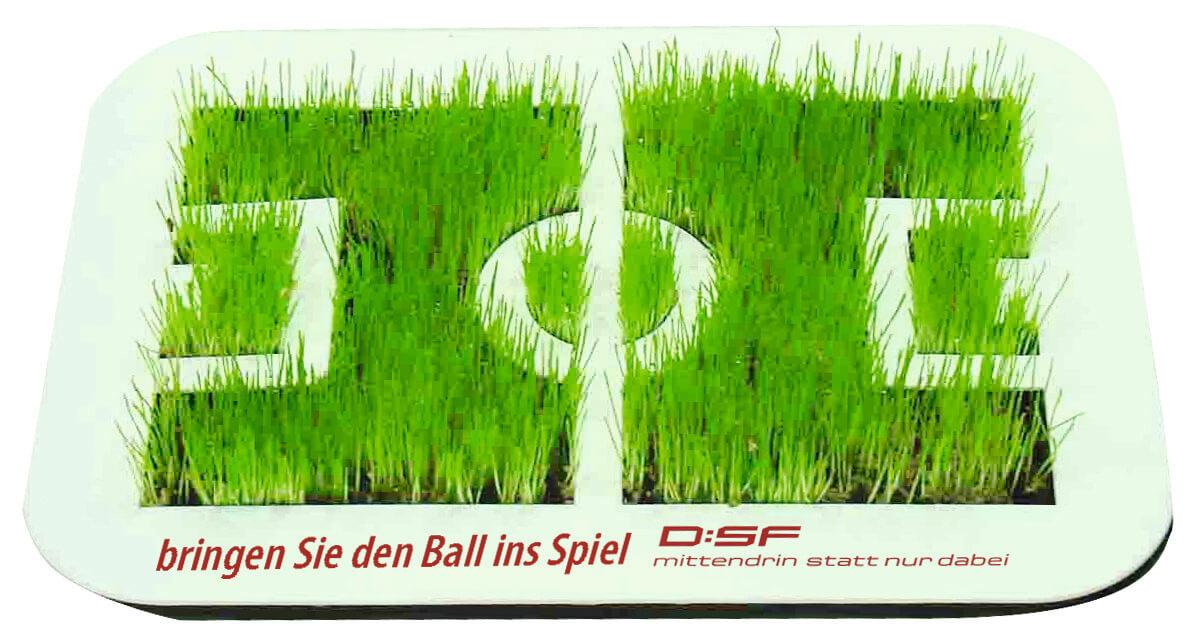 Mini terrain de football publicitaire ecologique ECO070