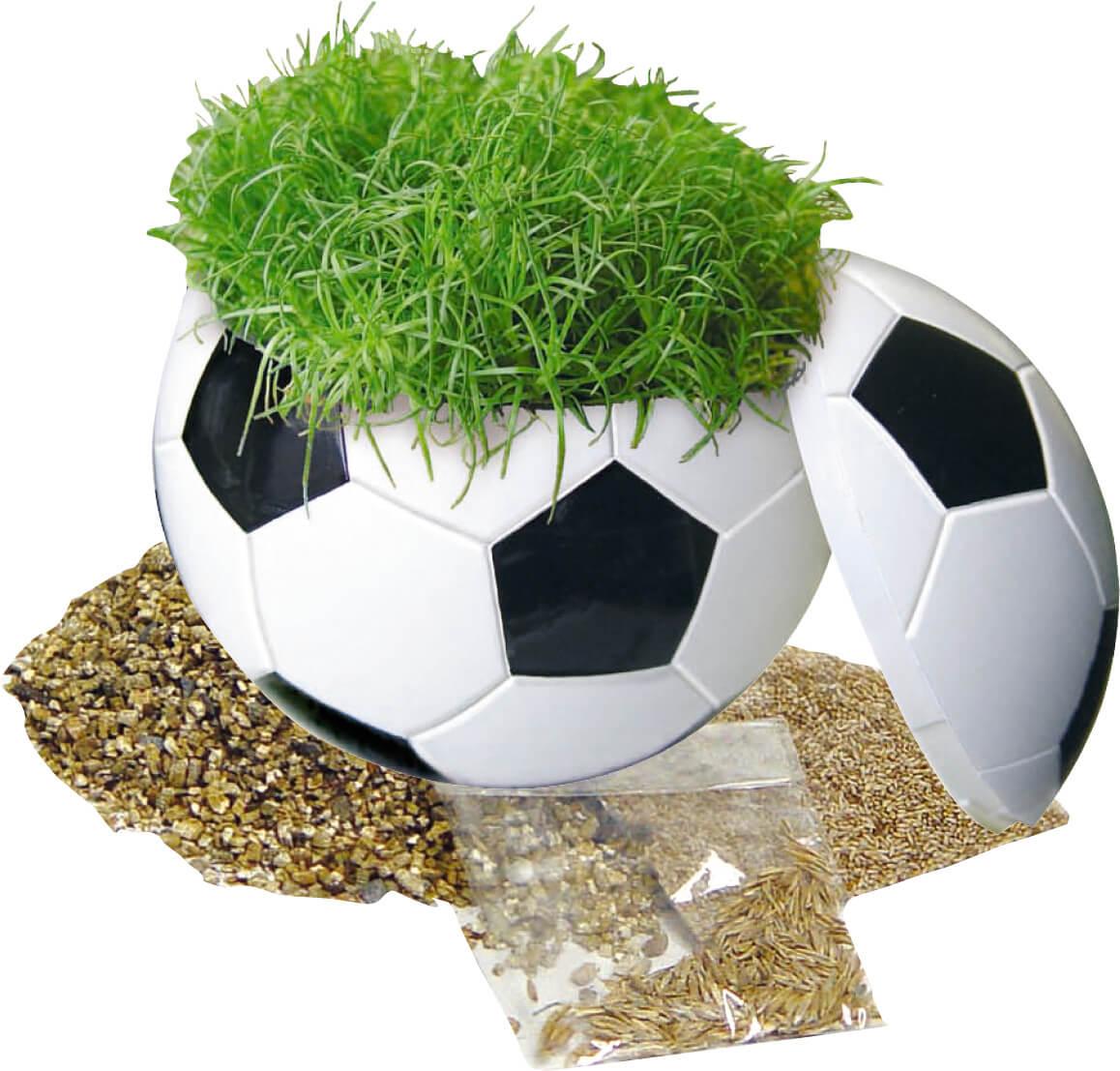Ballon d'herbe publicitaire ecologique ECO072