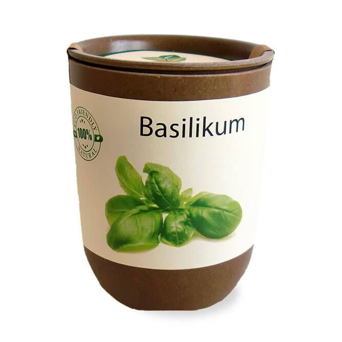 Pot d'herbes et plantes aromatiques ecologique publicitaire ECO083