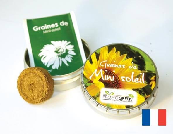 La boîte Clic-Clac ecologique publicitaire ECO103