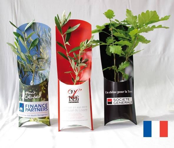 L'Etui Arbre ecologique publicitaire ECO105