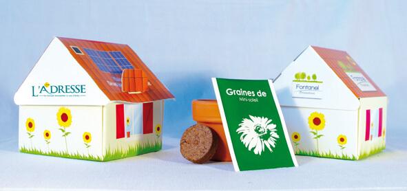 Maisonnette ecologique publicitaire ECO127