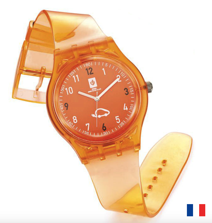 Montre Cristal publicitaire Made in France