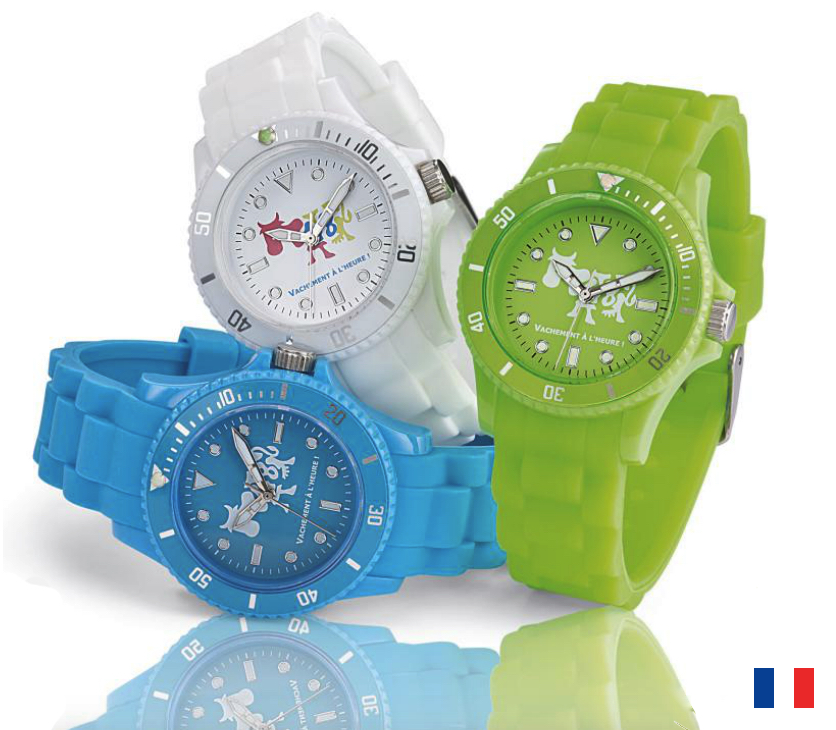 Mini Montre publicitaire Made in France