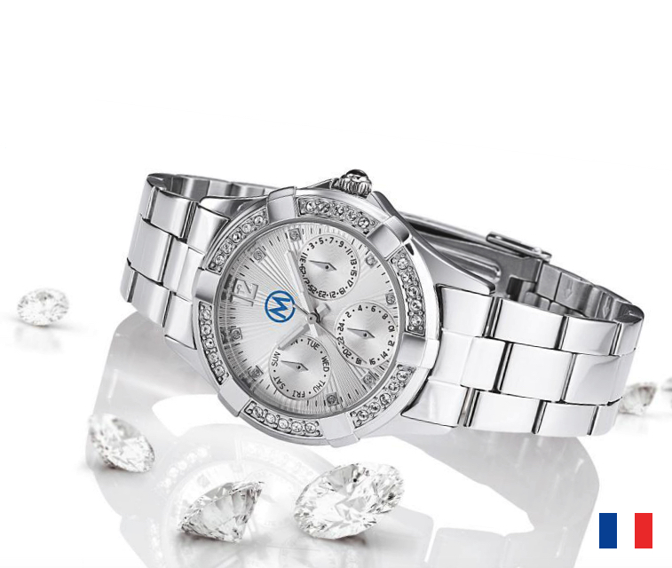 Montre Diamant publicitaire Made in France