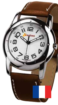 Montre Chrome publicitaire Made in France