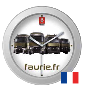 Horloge Murale publicitaire Made in France