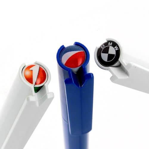 Stylo publicitaire pivotant plastique STP001