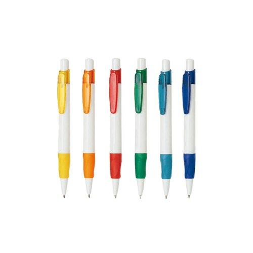 Stylo plastique retractable publicitaire STP045