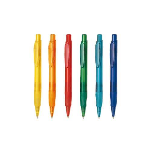 Stylo retractable plastique publicitaire STP046