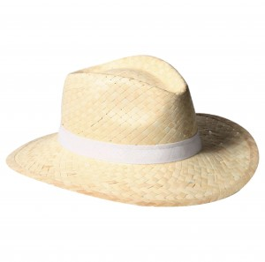 objets publicitaires chapeau en paille